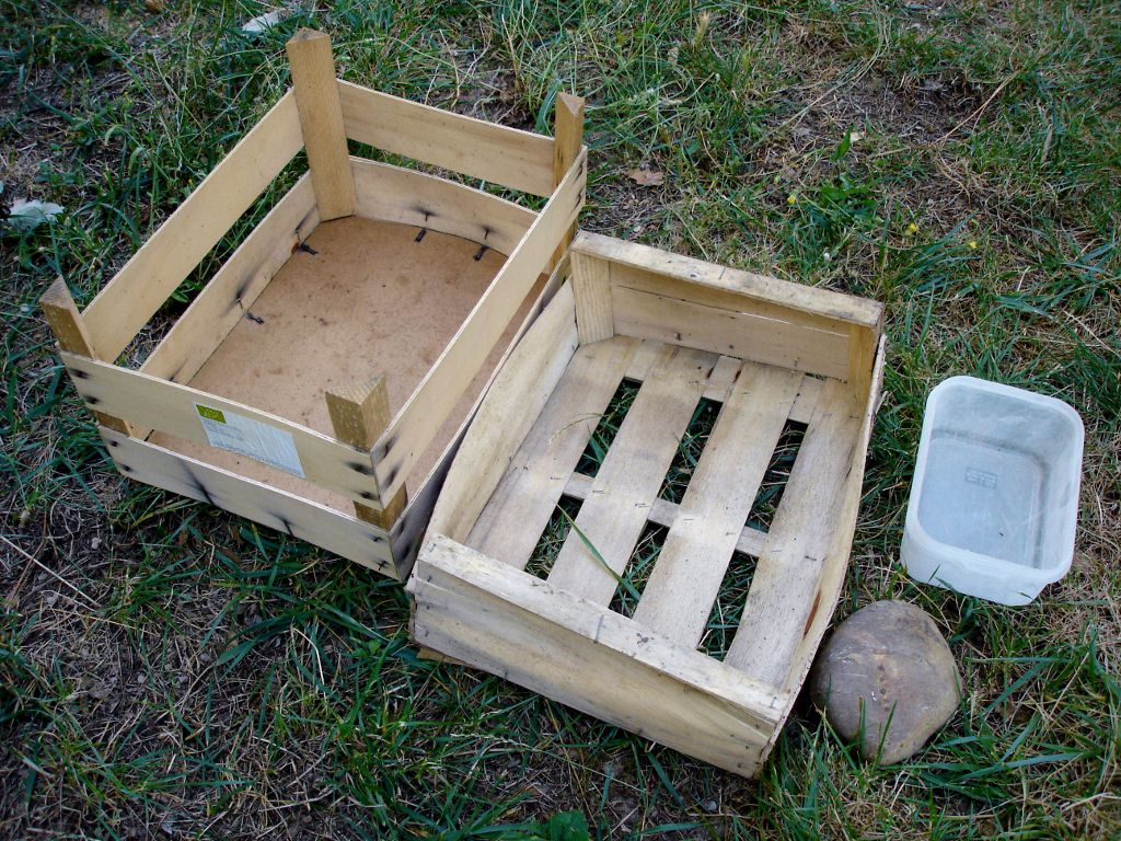 que du matriel de rcupration - Comment Fabriquer Un Composteur Exterieur