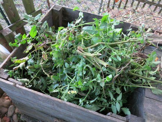 Mon composteur déborde de déchets végétaux