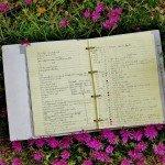 Mon cahier de jardin
