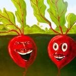 Des histoires drôles sur les légumes
