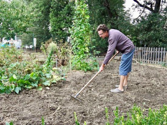 """Évitez de faire ce que je faisais il y a quelques années : je ratissais les moindre débris pour avoir un sol """"propre"""" !"""